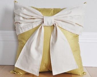 Gold Home Decor - Faux Gold Home Decor - Metallic Gold Home Decor - Bow Gold Decor - Treasure Decor - Gold Baby Nursery -