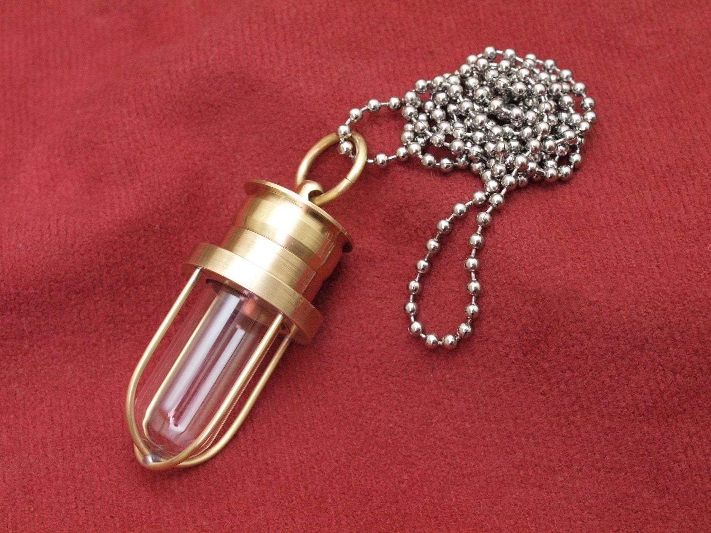 steunk jewelry nautical style stash necklace