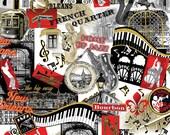 That's Jazz New Orleans - Kanvas Studio - Half Yard Plus