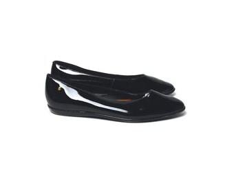 Patent Leather ETIENNE AIGNER Ballet Flats, Size 9.5