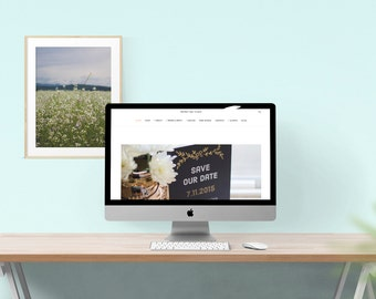 Custom your Website, Squarespace Website Customization for Small Business, Wedding Websites