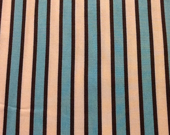 Tiffany Blue Stripe Fabric