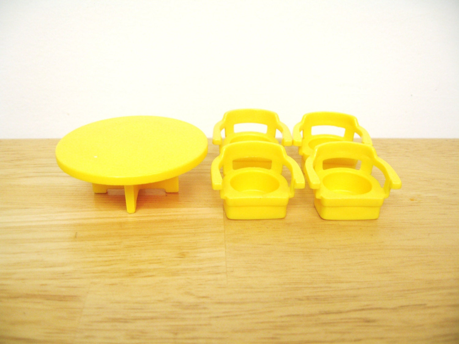 Vintage Fisher Price Table and Chairs by toysofthepast on Etsy