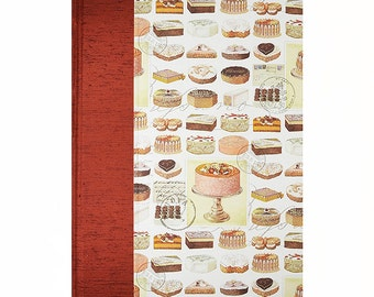 Recipe Book Blank EAT CAKE