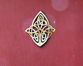 Celtic Knot Wall Art Diamond Shaped