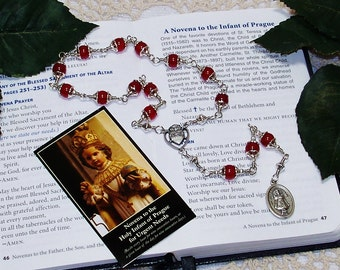 Unbreakable Chaplet of The Holy Infant of Prague - Patron of Children, Freedom, Good Finances, Good Health and Peace