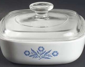 Corning Ware 1 Quart Square Casserole with Lid