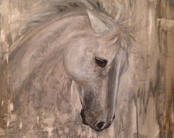 """Horse Painting, Horse Oil Painting, Horse Art, Giclee Print, """"Glory"""""""