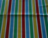 Handmade cotton stripe tablecloth primary colors stripe tablecloth 52 by 52 inches square