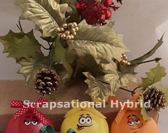 M & M Ornaments - Christmas Decorations - Christmas Ornaments