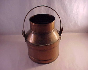 Items Similar To Antique Galvanized Metal 1 Quart Milk