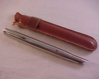 Eder Scope With Leather Case Scientific Medical Instrument