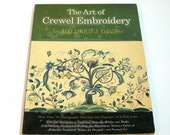 The Art Of Crewel Embroidery By Mildred J. Davis, Vintage Needlework Book
