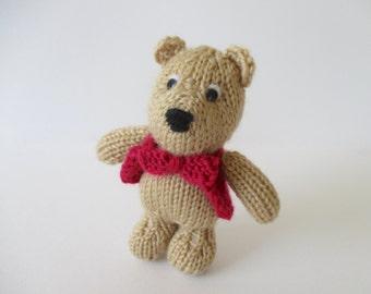 George Bear toy knitting patterns