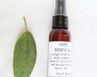 Sage Beard Oil - Softening - Vintage
