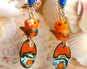 Tweet Tweet Birdie Earrings