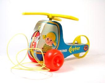 Fisher Price Mini-Copter No. 448