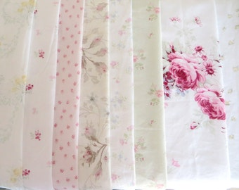Simply Shabby Chic Roses Quilt Squares-Rachel Ashwell-6 inch-48 piece set