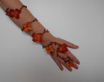 Fall Wedding Arm Cuff Vine