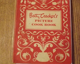 Betty Crocker's  Spiral Picture Cookbook (1950)