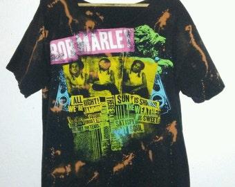 Bob Marley TShirt / Graphic Tee / Reggae / Rasta / Rastafari / Rocksteady / Ska Punk / Jamaica / Music Festival