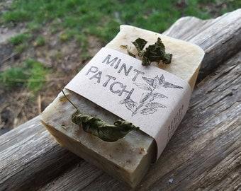 Mint Patch Milk Soap