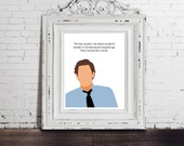 JIM Halpert, The Office, DIGITAL DOWNLOAD, Pam Beasley, Love poster quote, home, typography, tv sitcom, Dwight Schrute, Michael Scott Art