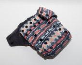 CLEARANCE Aztec Print Cloth Diaper - One Size Cloth Diaper - OS Baby Diaper  - Cloth Cover - Pocket Diaper - AI2 Diaper