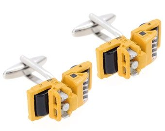 Yellow Truck Cufflinks 1200473