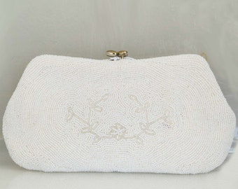 Vintage Beaded Purse, Clutch, Evening Bag