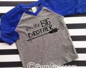 Big Brother Shirt Big Bro Shirt Arrow Shirt Raglan Tee Im The Big Brother Raglan Baby Announcement Shirt Pregnancy Announcement Hipster