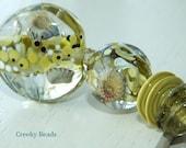 Handmade Lampwork  beads 'Sea Urchins' Creeky Beads SRA