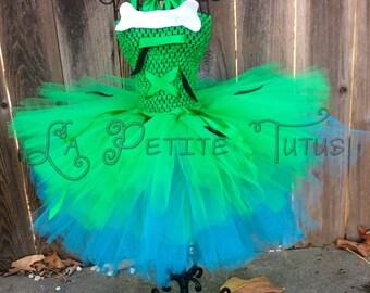 Cavegirl costume, bone clip, costume, halloween, girls clothing, girls tutu, clothing, girls costume, halloween costume, tutu dress