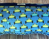 """Memory Foam  Nappy Nap Mat Nap Roll in Start Your Engines Designer Print (extra long 60"""") with FREE Embroidery"""