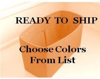 Ready to Ship .....Fits Speedy 35 ....Choose Colors from List...Purse Insert ORGANIZER . . Strong and Durable - (13x6x6)