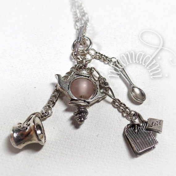 Charm Necklace - Tea Lover