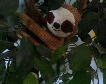 Crochet Sloth Any Colors You want READY TO SHIP