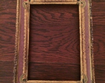 Two Shabby chic, florentine gilt picture frame