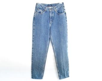 90's Blue Stonewash Denim High Rise Jeans size - S/M