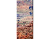 Grand Canyon Photo - SW Landscape - Arizona Art - Home Decor - Tall Canvas - Tranquil - Multi-colors - Large Canvas - 20 x 60 Canvas