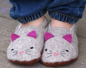 Wild Thing Big Kids Shoes - PDF Sewing Pattern