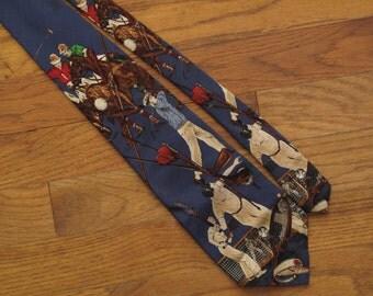 vintage Ralph Lauren sports tie