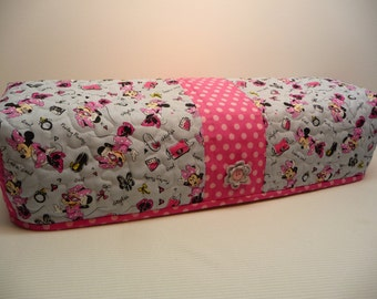 Girly Mouse  - Quilted Cricut Explore Cozy - Explore Cozy - Explore Dust Cover
