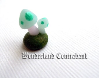 LAST CHANCE - Micro Magic Mushrooms - Miniature Sculpture