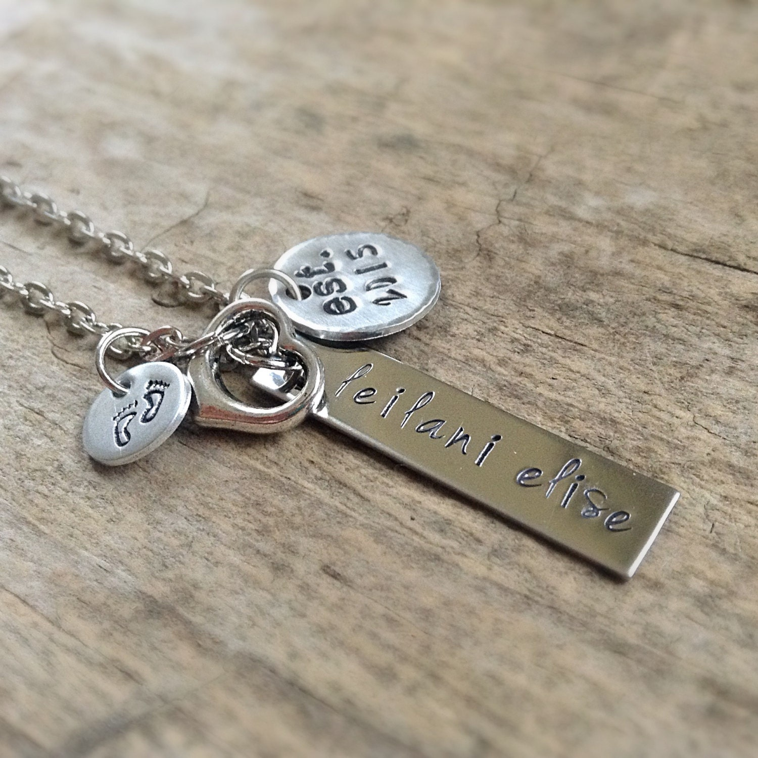 sterling silver baby name necklace necklace baby birth