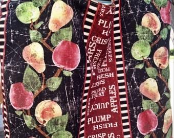 Apples, Fruit, Pears, Fall Bag, Shopping Bag, Market Bag