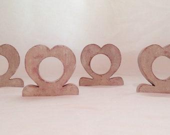 Handmade Wooden  Napkin Rings