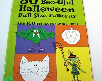 Better Homes and Gardens 50 BOO-TIFUL Halloween Full-Size Patterns booklet - 47 pages of patterns - Halloween patterns