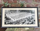 Vintage 1955 Military Photograph of Naval Academy Graduation