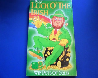Vintage Board Game, Luck O' the Irish, St. Patrick's Day